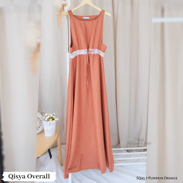 Qisya Overall - SQ45.7 Pumpkin Orange