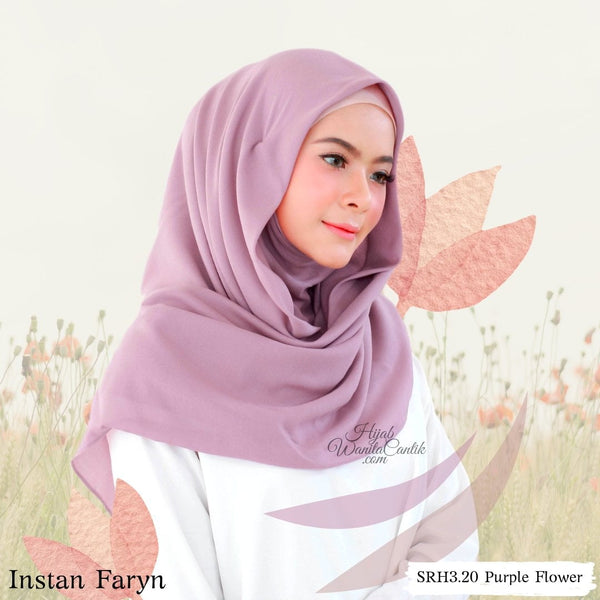 Instan Faryn  - SRH3.20 Purple Flower