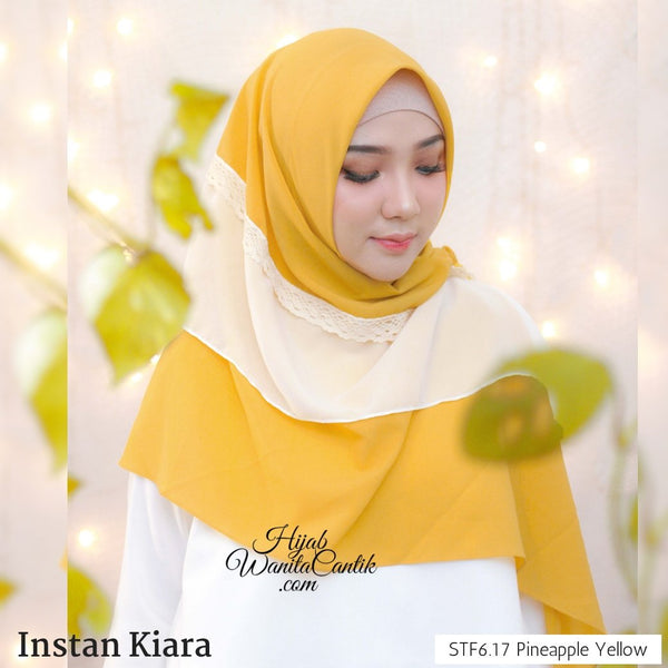 Instan Kiara - STF6.17 Pineapple Yellow