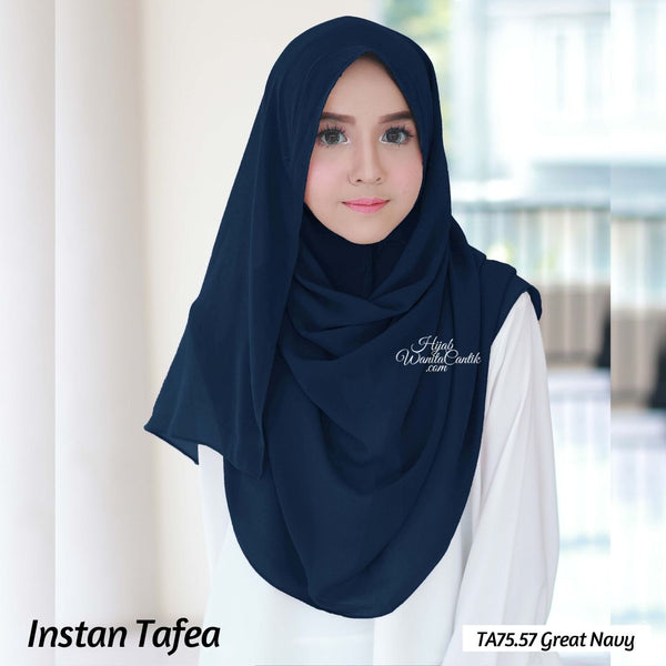 Pashmina Instan Tafea - TA75.57 Great Navy
