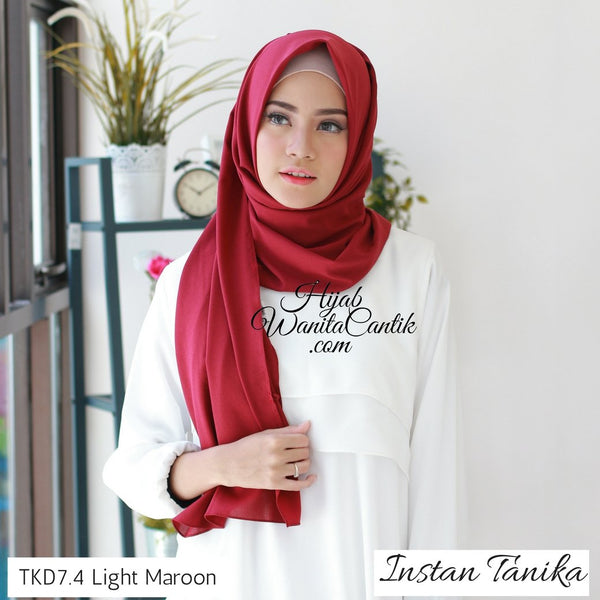 Instan Tanika - TKD7.4 Light Maroon