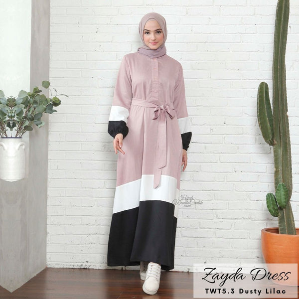 Zayda Dress - TWT5.3 Dusty Lilac