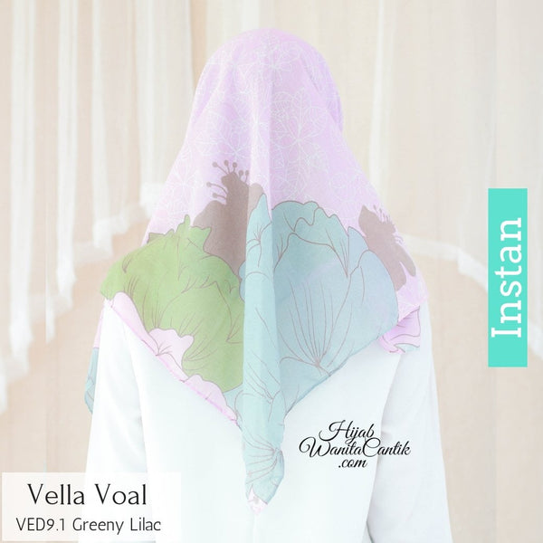 Instan Vella Voal - VED9.1 Greeny Lilac