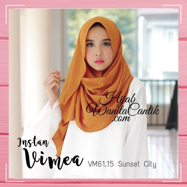 Pashmina Instan Vimea - VM61.15 Sunset City