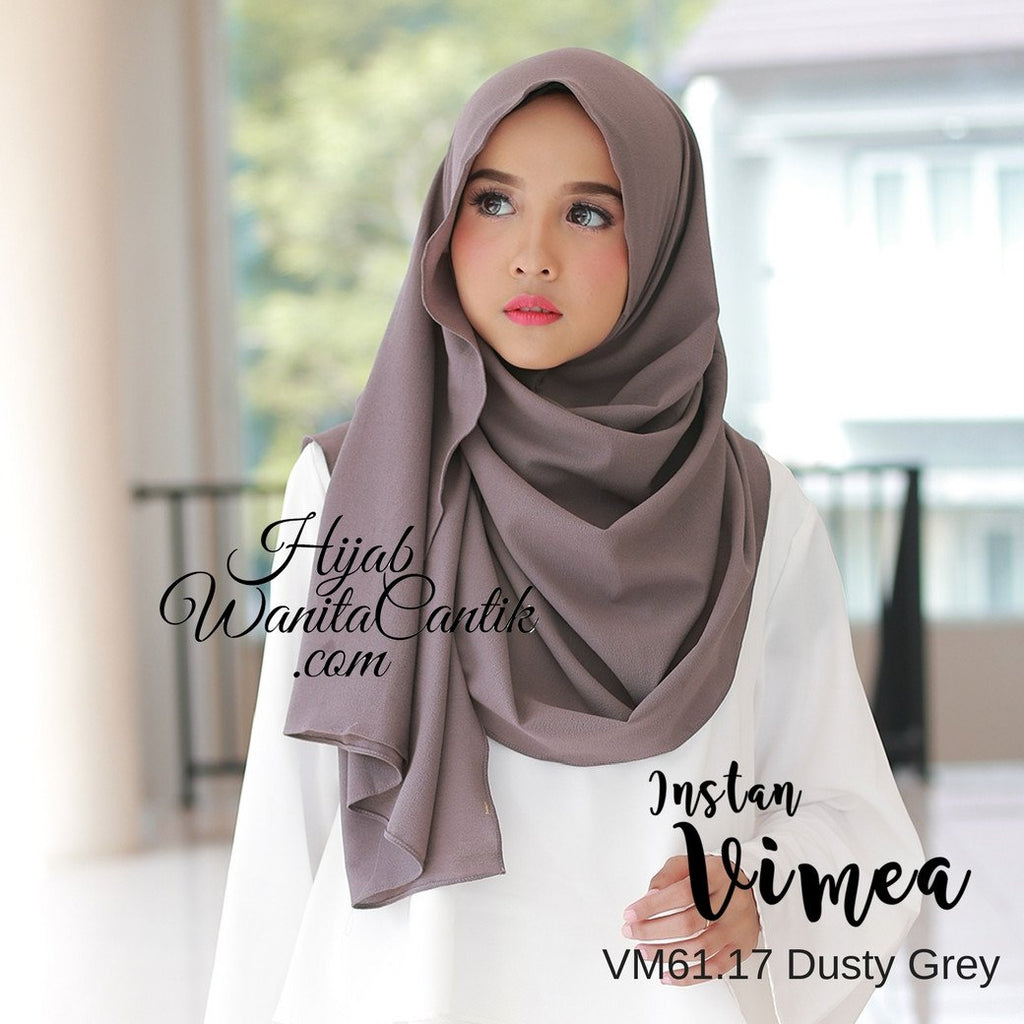 Pashmina Instan Vimea - VM61.17 Dusty Grey