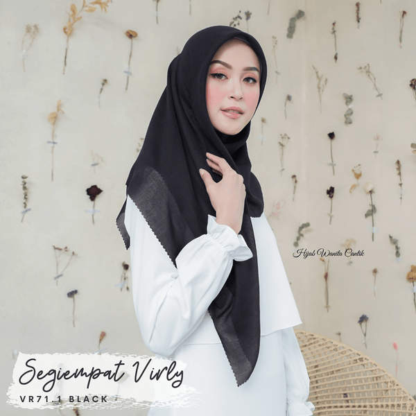 Segiempat Virly - VR71.1 Black