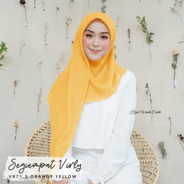 Segiempat Virly - VR71.3 Orange Yellow