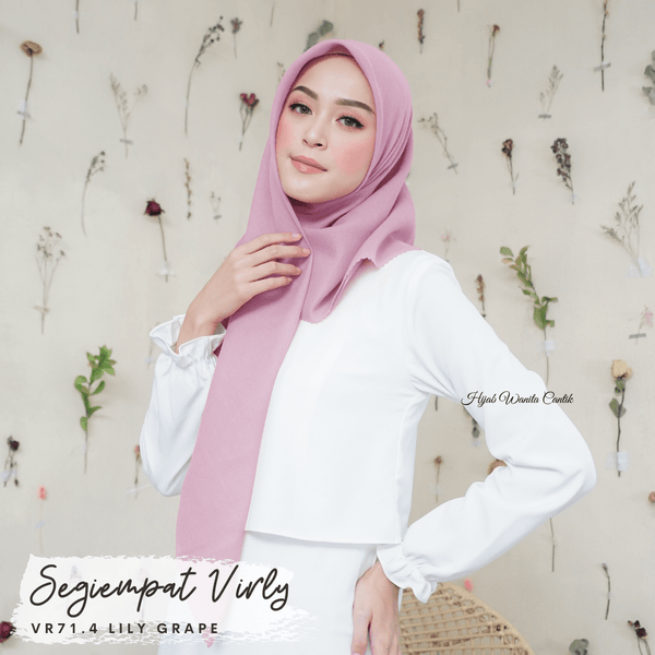 Segiempat Virly - VR71.4 Lily Grape