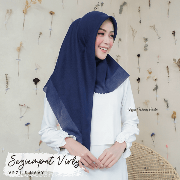Segiempat Virly - VR71.5 Navy