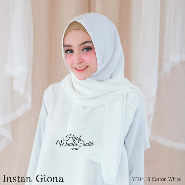 Instan Giona  - YFH4.18 Cotton White