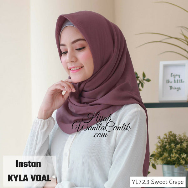 Instan Kyla Voal - YL72.3 Sweet Grape