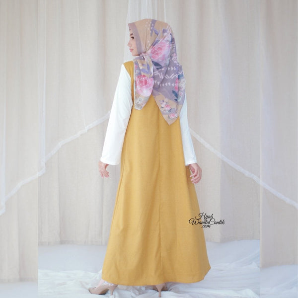 Malka Dress  - BL29.4 Lite Mustard