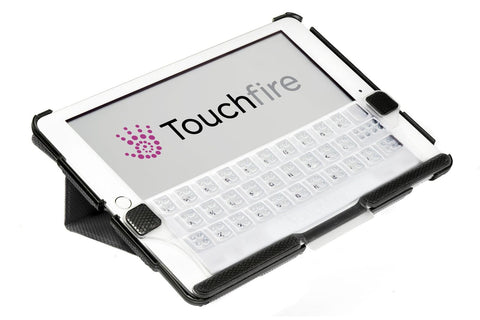 Touchfire Keyboard for iPad Air, iPad 5 & iPad 6 in TF-2731-BK-BK Packaging - Touchfire Products