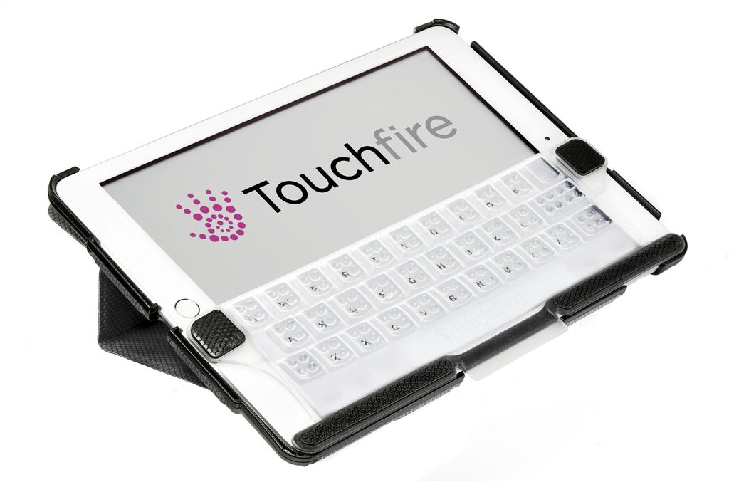 Touchfire Keyboard for iPad 2,3,4 in TF-8490-BK-BL Packaging - Touchfire Products