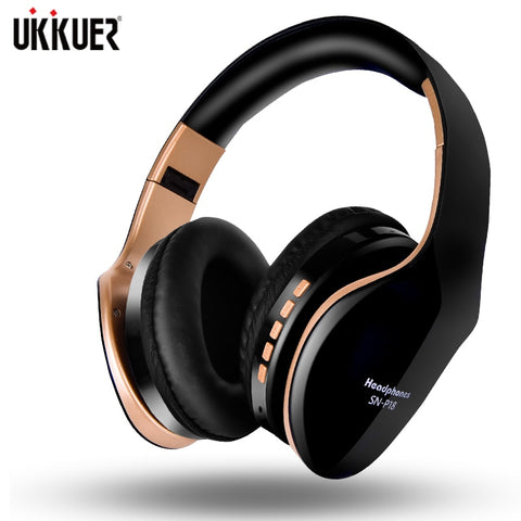 Image of New Wireless Headphones Bluetooth Headset Foldable Stereo Headphone Gaming Earphones With Microphone For PC Mobile phone Mp3