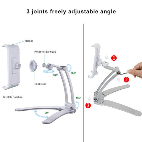 Image of Touchfire Desktop & Wall Pull-Up Lazy Bracket