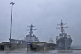 "USS Ross DDG-71) & USS Forrest Sherman DDG-98 NORFOLK (Aug. 27, 2011) - 4"" x 6"" Photograph"