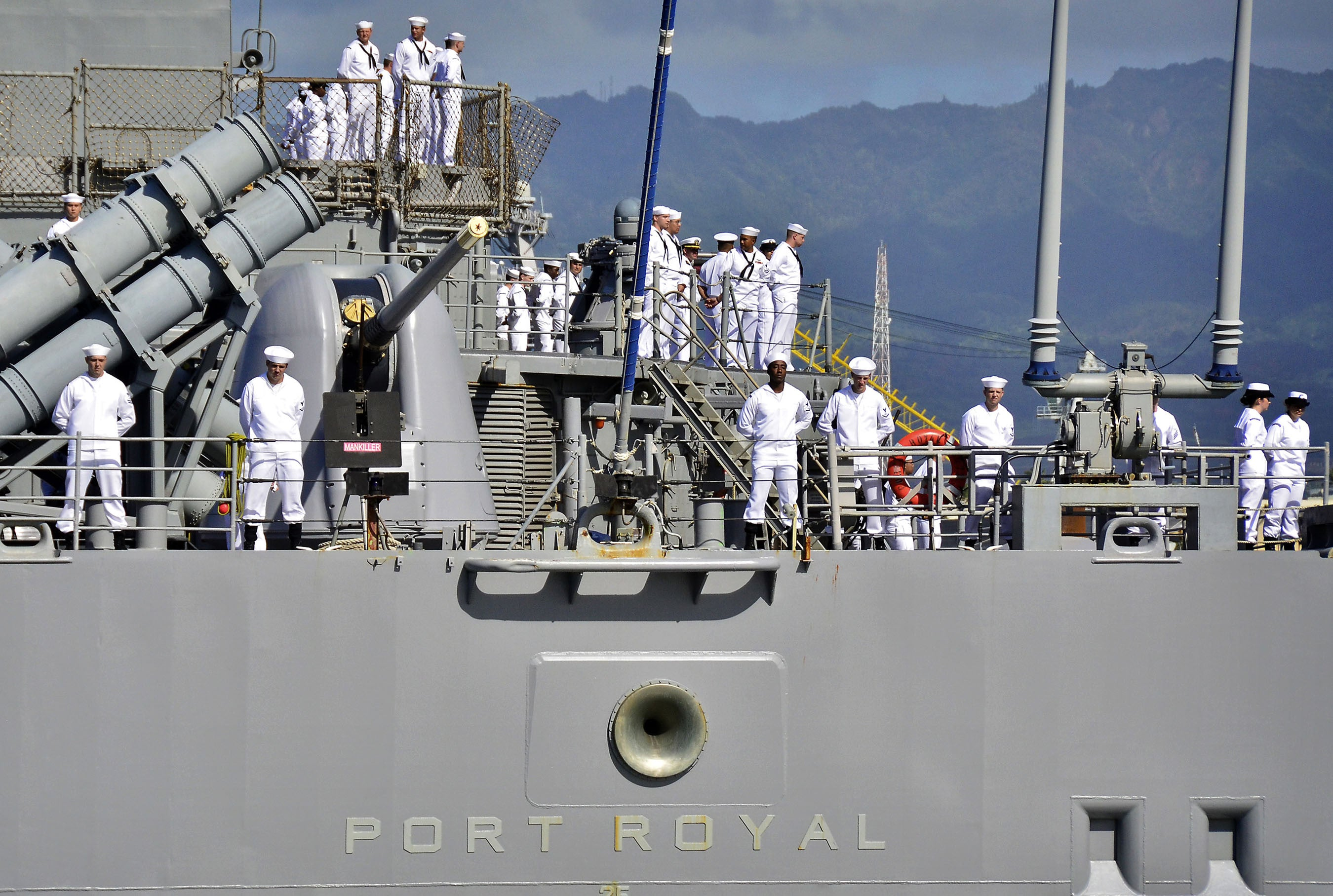 "USS Port Royal CG-73 PEARL HARBOR (June 24, 2011) - 4"" x 6"" Photograph"