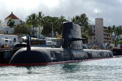 "Australian Submarine HMAS Rankin SSG-78 Pearl Harbor, Hawaii (July 2, 2004) - 4 x 6"" Photo Card"