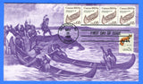 Scott 2454 5c Canoe Transportation Issue First Day Cover by KMC Venture