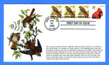 Scott 3044 1c American Kestrel Combo First Day Cover by S & T Cachets