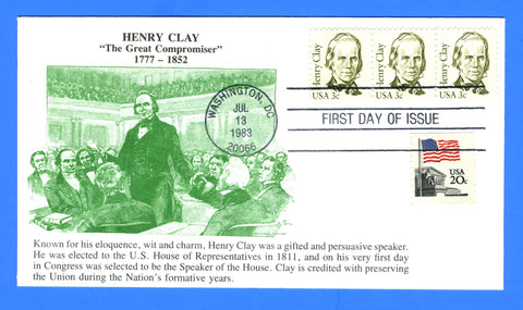 Scott 1846 3c Henry Clay First Day Cover by KMC Venture