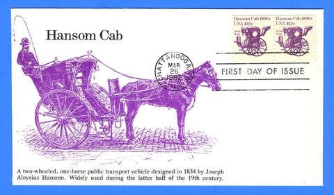 Scott 1904 10.9c Hansom Cab, Bulk Rate First Day Cover by KMC Venture