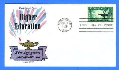 Scott 1206 4c Higher Education First Day Cover by Fluegel Covers