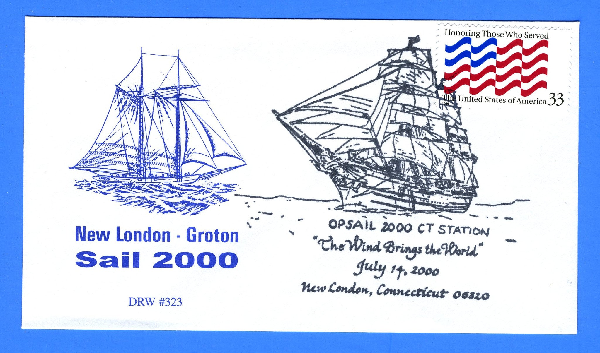 OpSail (Operation Sail 2000) July 14, 2000 - DRW 323