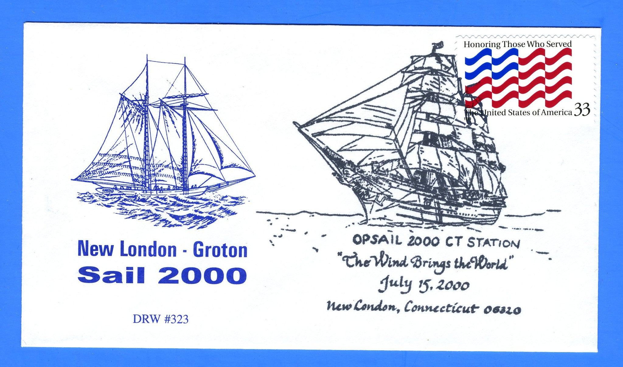 OpSail (Operation Sail 2000) July 15, 2000 - DRW 323