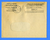 Sailor's Censored V Mail Landing Craft Tank USS LCT (5) Flotilla 11 September 3, 1943