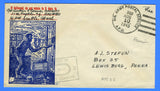 "11th Fighter Squadron Censored ""Free"" Mail APO 980 Adak, Alaska August 10, 1945"