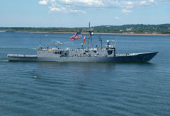 "USS Klakring FFG-42 New York Harbor May 24, 2006 - 5 x 7"" Photo Card"