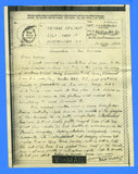 Soldier's Censored V Mail APO 322 Finschhafen, New Guinea July 10, 1944