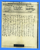 Soldiers Censored V Mail APO 322 4th ASAC Finschhafen, New Guinea June 21, 1944