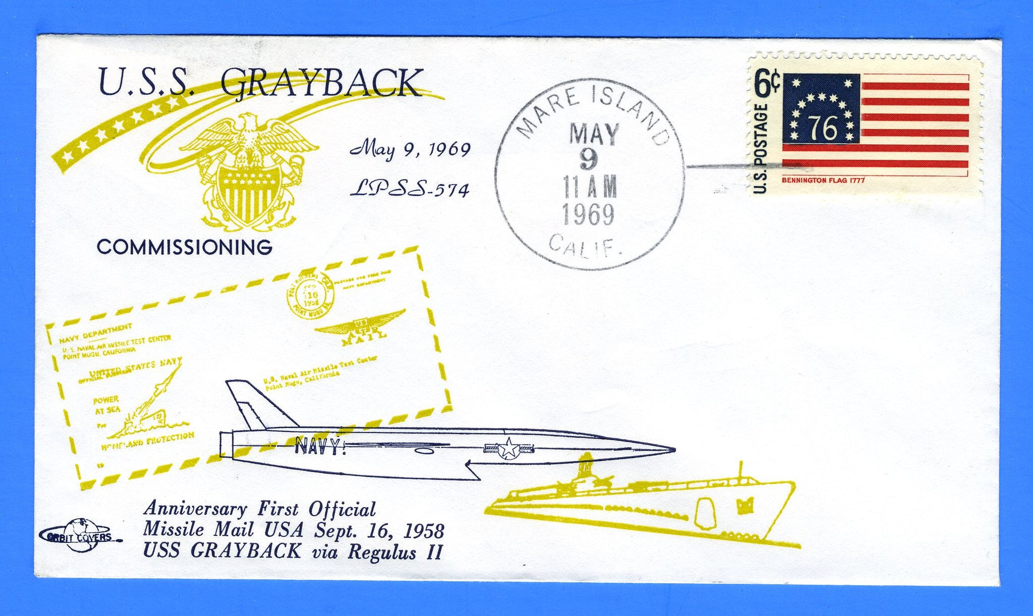 USS Grayback LPSS-574 Recommissioned as Amphibious Transport Submarine May May 9, 1969
