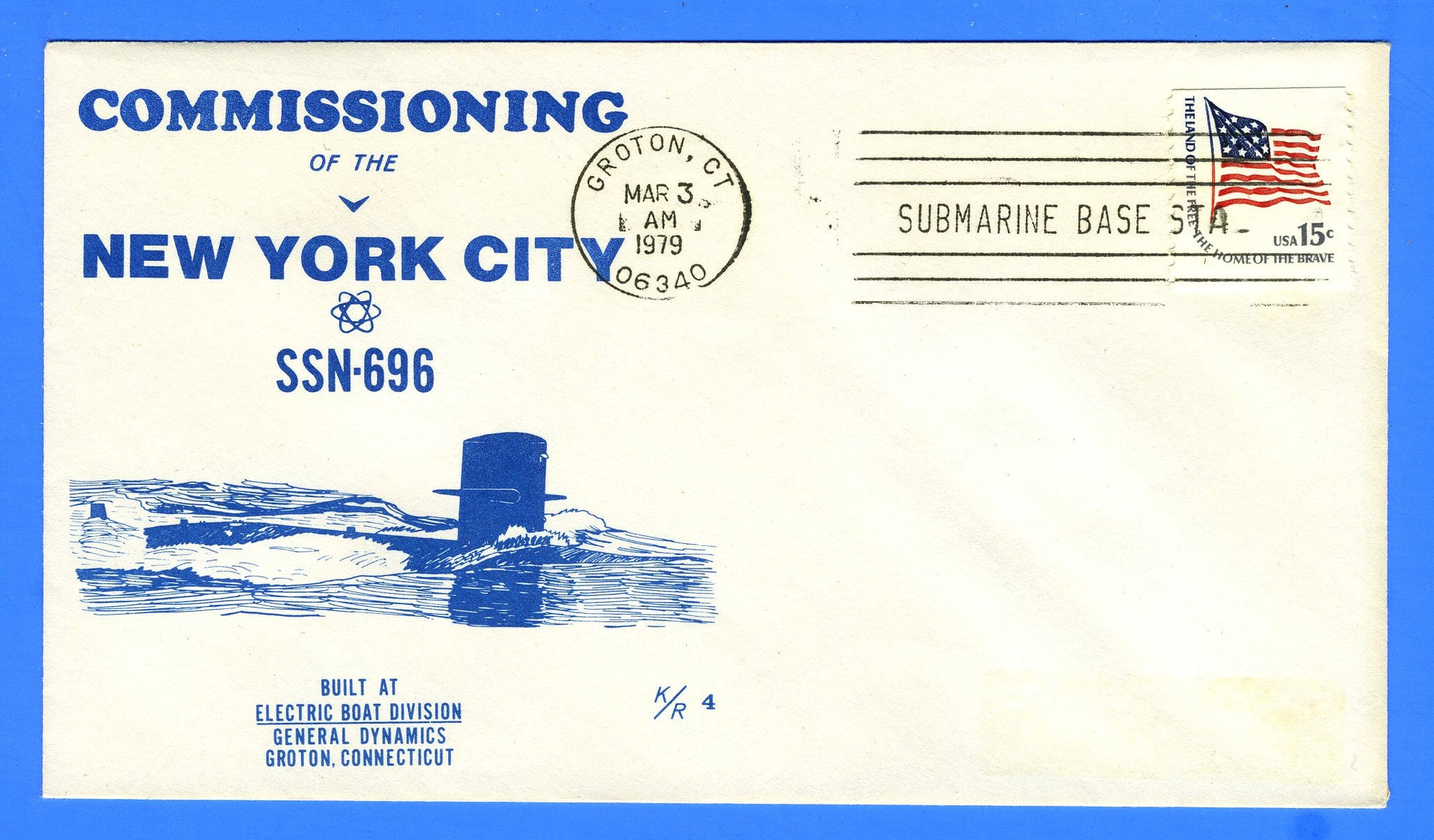 USS New York City SSN-696 Commissioned March 3, 1979