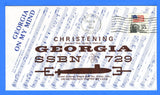 USS Georgia SSBN-729 Christening November 6, 1982