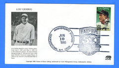 Scott 2417 25c Lou Gehrig First Day Cover