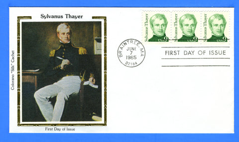 Scott 1852 9c Sylvanus Thayer First Day Cover by Colorano