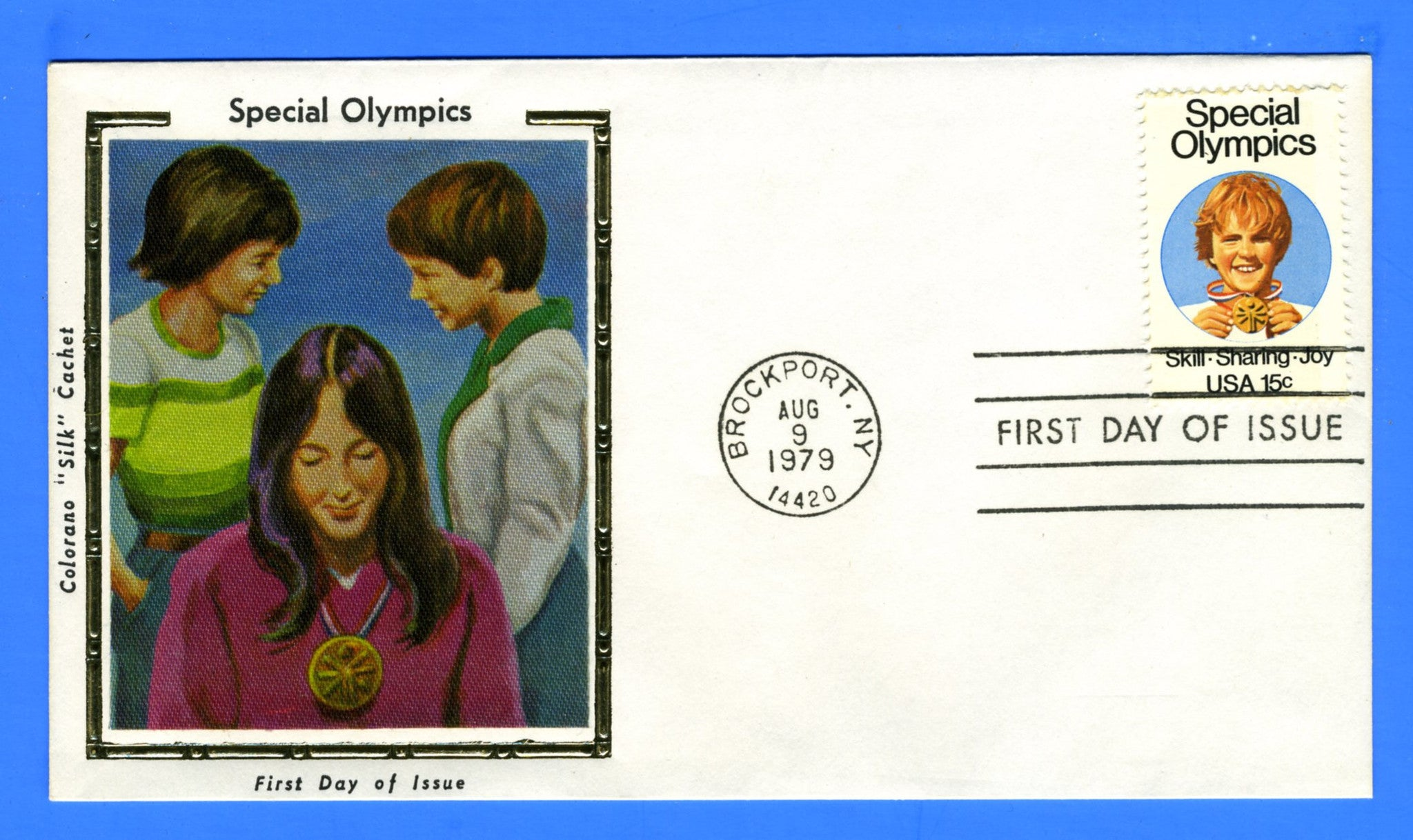 Scott 1788 15c Special Olympics First Day Cover by Colorano