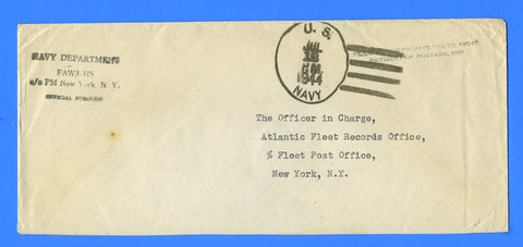 Fleet Air Wing Three - HS Official Mail July 13, 1944
