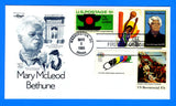 Scott 2137 Mary McLeod Bethune Combo First Day Cover by Artmaster