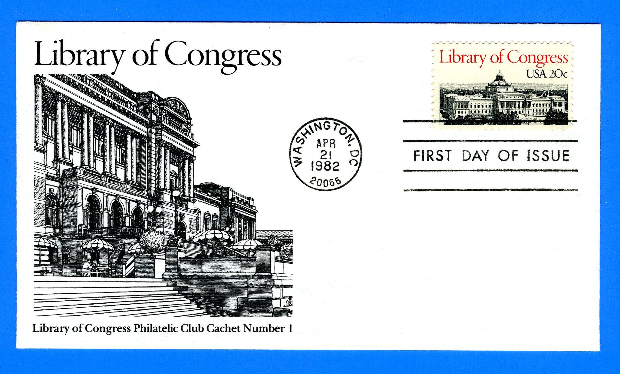 Scott 2004 Library of Congress First Day Cover by Library of Congress Philatelic