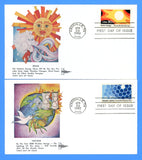Scott 2006-09 Knoxville World's Fair Set of Four First Day Covers by Gill Craft