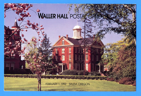 Scott UX162 Waller Hall Postal Card First Day of Issue Program
