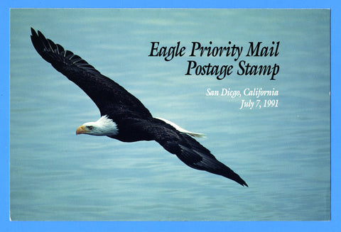 Scott 2540 $2.90 Priority Mail Eagle Olympics First Day of Issue Program