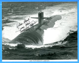 "USS Portsmouth SSN-707 Commanding Officer Signed - 8 x 10"" Photograph"