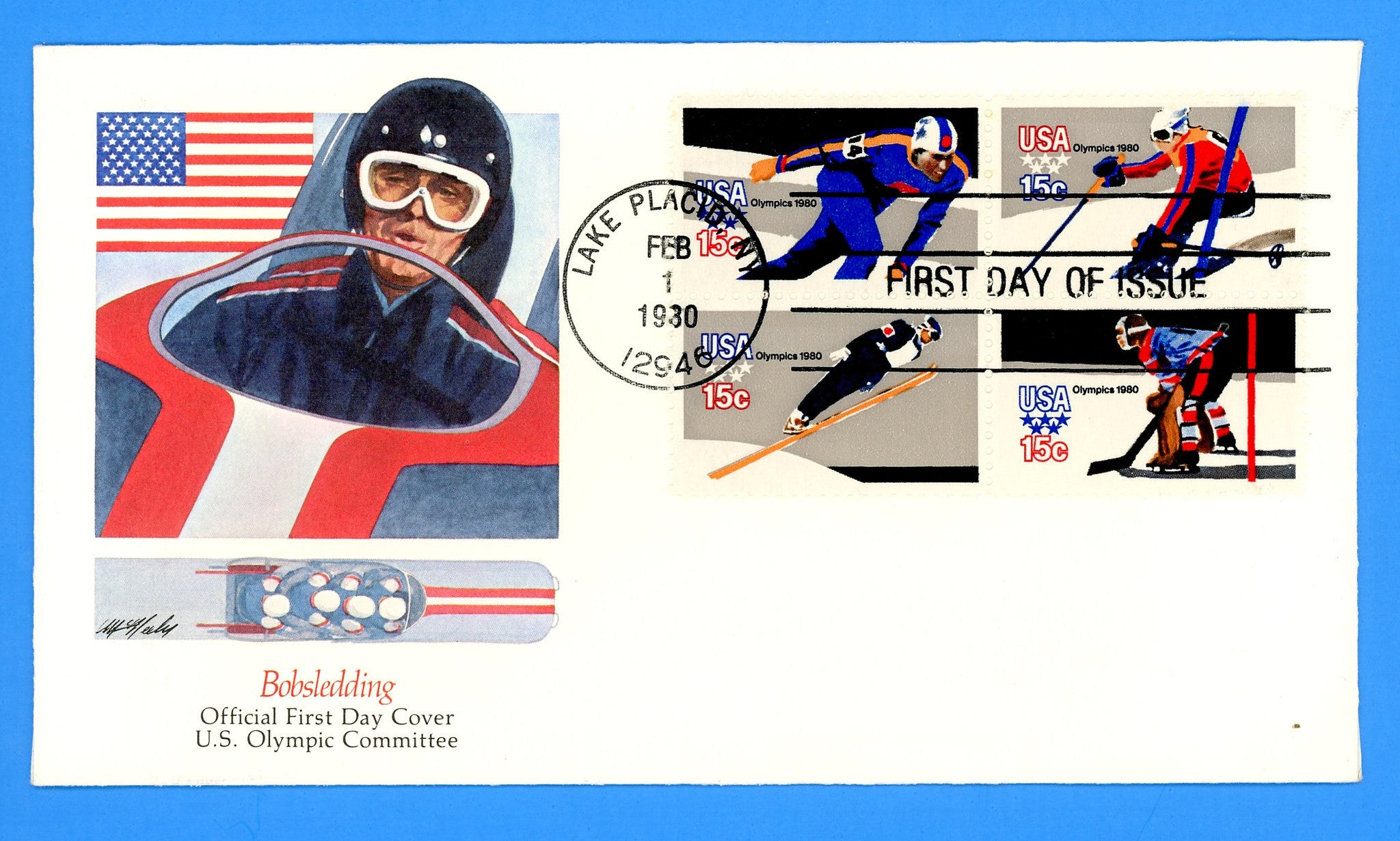 Scott 1798b Winter Olympics First Day Cover by Fleetwood