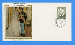 Monaco - Princess Grace In Memoriam Silk Colorano Cover September 9, 1983